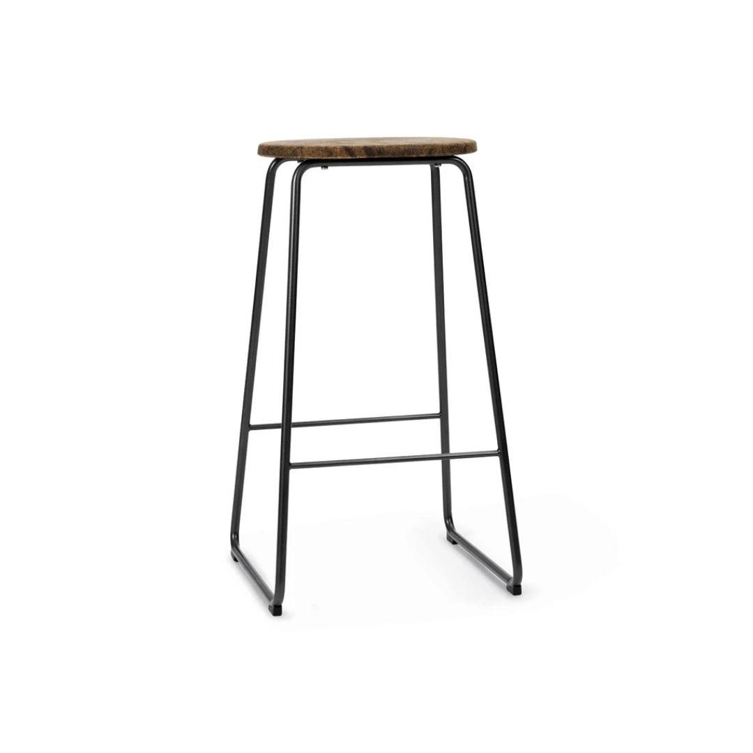 Brown bar stool
