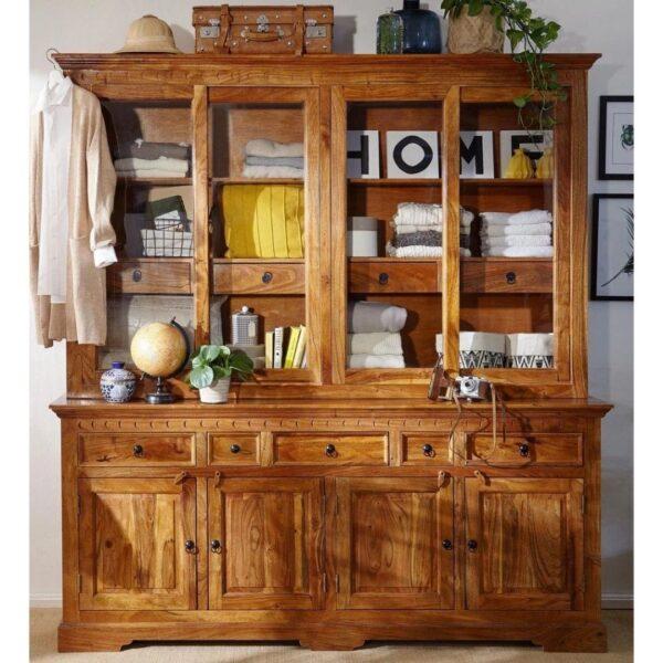 sheesham wood cabinet