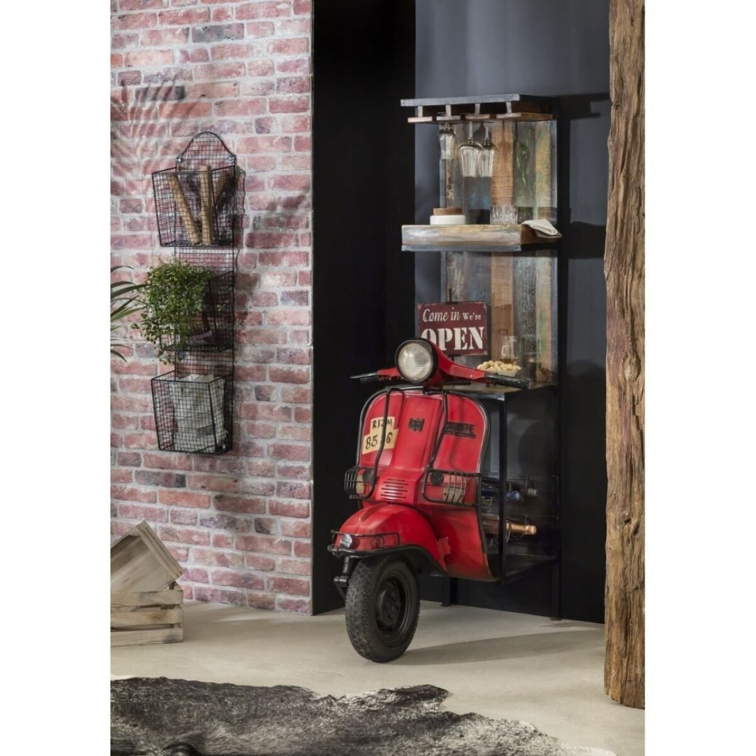 Scooter Bar Cabinet