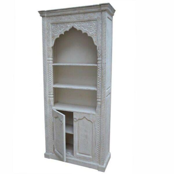 2 door bookshelf