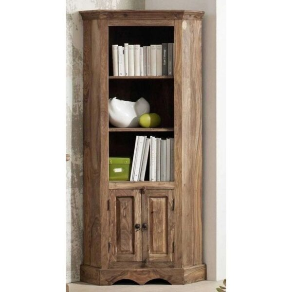 boston wood bookcase