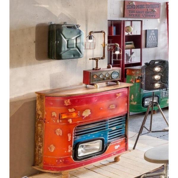 truck mini bar cabinet