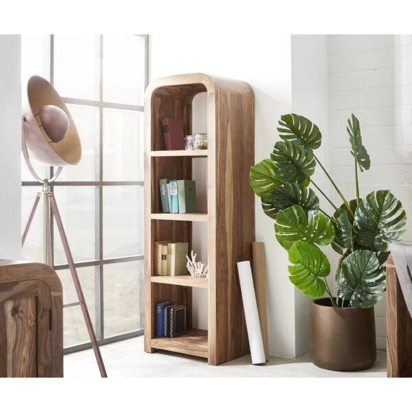 solid wood large bookshelf