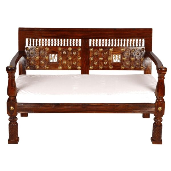 brown solid sofas set